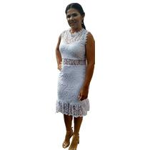 8a3ae8b46 Vestido Noiva Casamento Civil Cartório Renda Guipir à venda em Sumé ...
