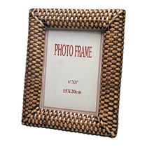Porta Retrato 15x20 De Rattan - 9720