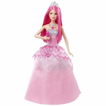 Boneca Barbie Rock N Royals Cmr86 Mattel
