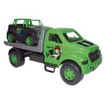 Caminhão Guincho Com Jipe Ben 10 - Multibrink