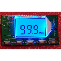 Transmissor Fm Dsp Pll 0,1w Estéreo - Frete $10