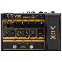 Pedaleira Multi-efeitos Valvulada P/ Guitarra Vox Tonelab St