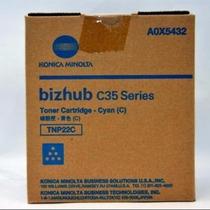 Toner Tnp22c Konica Minolta A0x5432 Bizhub C35 Series Orig.
