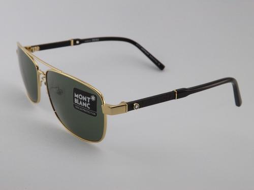 c4d4a6dae09fa Óculos De Sol Mont Blanc 648 Gold Premium. Preço  R  285 Veja MercadoLibre