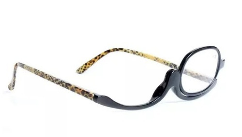 Óculos Para Maquiagem Lupa Grau Aumenta +2,5 Oncinha. Preço  R  55 9 Veja  MercadoLibre 454b2fb2f9