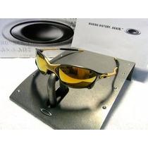 Oculos Juliet 24k X Metal Cinza E Dourado Frete Gratis