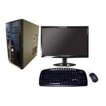 Computador Completo Novo Core 2 Duo 4gb Hd 160gb Dvd Rw Wifi