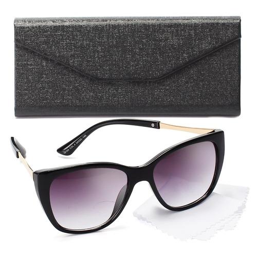 Oculos Sol Feminino Gatinho Lente Proteção Uv Estojo Grátis daa425d91b