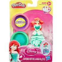 Massinha De Modelar Play Doh Estampa Princesas Disney - Ha