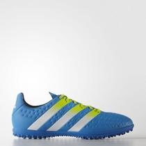 Chuteira Society Adidas Ace 16 3 Tf Suiço Original + Nf