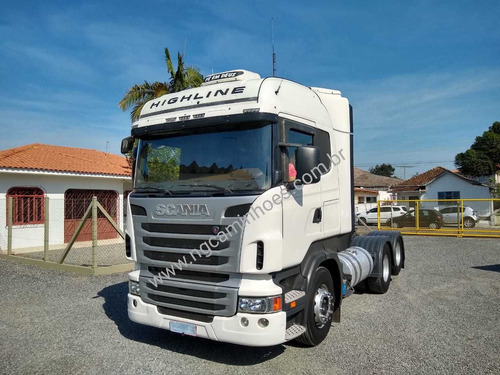 SCANIA R440 HIGHLINE 2013 UNICO DONO TRUCADO LS 6X2 420 /380