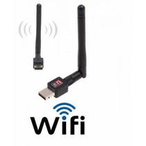 Wireless Adaptador Usb Wifi 300mbps Sem Fio Lan B/g/n Antena