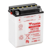 Bateria Yuasa Yb14-a2 Honda Cbx 750 / Cbf 1000 Importada