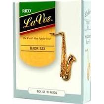 Palheta La Voz Sax Tenor Medium (2,5) (* Frete Gratis)