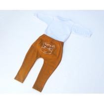 Conjunto Infantil Menino Bebe Body E Calça Saruel. Promoção!