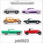 Adesivo Carros Antigos Vintage Automóvel Classics Job0923