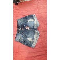 Shorts Jeans Feminino Desfiado Hiatto