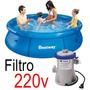 Piscina Inflável 2.300 Litros + Filtro - Bestway Intex 2300