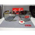 Óculos De Sol Rayban 3025 Aviador Prata Espelhado