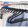 Cabide Ultra Fino Aveludado Kit 25 Unidades Vestido E Calça