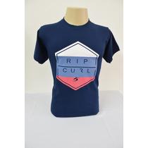 Camiseta Masculina Rip Curl, Cor Azul Marinho