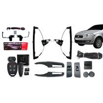 Kit Vidro Elétrico Fiat Palio Novo 2 Portas + Trava + Alarme