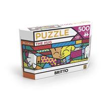 Puzzle 500 Peças Panorama Romero Britto The Hug Grow