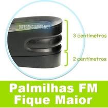 Palmilhas Elevator Air Up 2 Camadas Ajuste De Altura Até 5cm