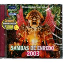Cd Sambas De Enredo 2003 Rio De Janeiro - Novo Lacrado Raro