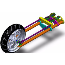 Projeto Suspensão Moto Chopper Dianteira - Passo A Passo
