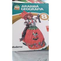 Livro De Geografia - Projeto Araribá 8 + Guia De Estudo 8