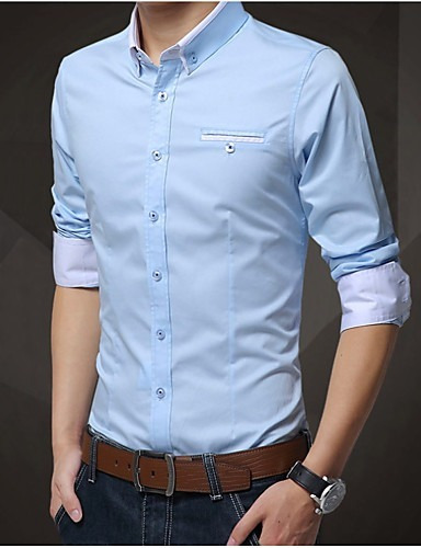 05c9a532ad Camisa Social Slim Fit Estilo Europeu Frete Grátis Para 2 Un. Preço  R  74 9  Veja MercadoLibre
