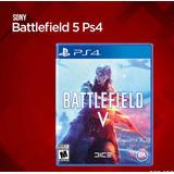 Battlefield 5 V Ps4 Midia Fisica Português Br Pronta Entrega