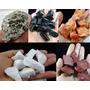 Coleção De Gemas E Minerais - Lote C/ 15 Pedras Média 3 Cm