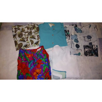 Camisas De Seda Lote Tamanho Gg