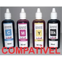 Kit 4 Refil Compatível Ao Original Epson L365