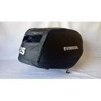 Capa Para Capo De Motor De Popa Evinrude E-tec 25hp-30hp