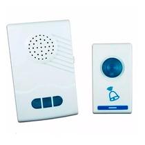 Campainha Residencial Wireless Sem Fio Restente Água Ac31