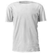 Camisetas 100% Poliester Lisa Para Sublimação Atacado Adulto