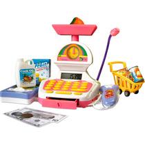 Brinquedo Infantil Caixa Registradora Casinha Flor Xalingo