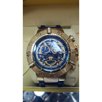 Relógio Invicta Subaqua 18527 Dourado - Original Completo