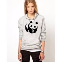Blusa Panda Moletom Canguru Personalizada Promoção !!