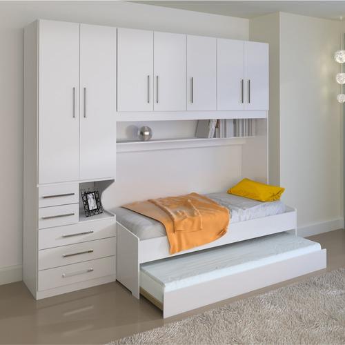 d1f28b6f7c Dormitório De Solteiro Transversal 1326 Branco
