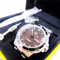 Relógio Orient Automático De Mergulho 469ss053 Pulseira Mesh
