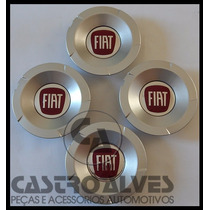 Jg. De Calota Central Roda Fiat Stilo 2.4 Abarth Nova Aro 17