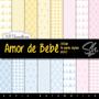 Papel Digital Scrapbook Imagens Sh045 - Amor De Bebê