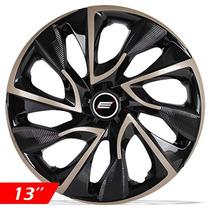 Calota Aro 13 Gold Esportiva Ds4 Fiat/vw/ford/clio/gm/univer