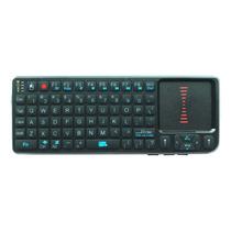 Mini Teclado Wireless Com Luz Mouse E Laser Tomate Mct-102