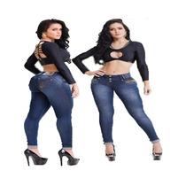 Calça Jeans Estilo Pitbull Coleção 2016 Levanta Bumbum