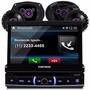 Toca Cd Dvd Positron Bluetooth+ Falantes Pioneer 6 + 6x9 Pol